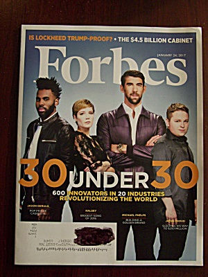 Forbes, Volume 199, No.1, January 24, 2017