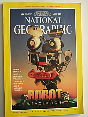 National Geographic, Volume 192, No. 1, July 1997