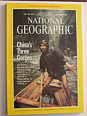 National Geographic, Volume 192, No. 3, September 1997