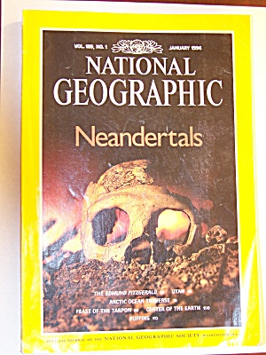 National Geographic, Volume 189, No. 1, January 1996