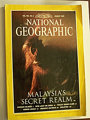 National Geographic, Volume 192, No. 2, August 1997
