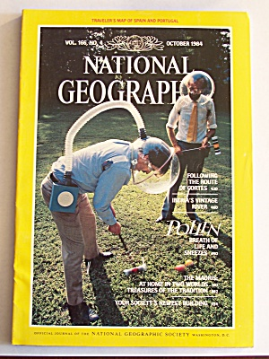 National Geographic, Volume 166, No. 4, October 1984