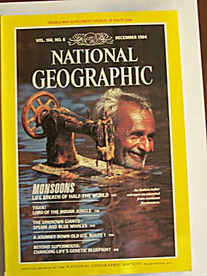 National Geographic, Volume 166, No. 6, December 1984