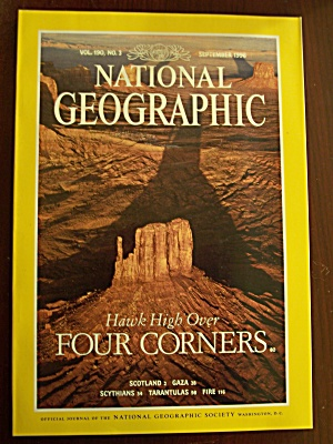 National Geographic, Volume 190, No. 3, September 1996