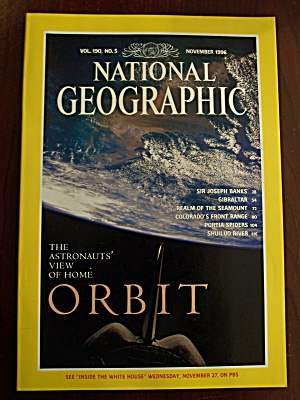 National Geographic, Volume 190, No. 5, November 1996