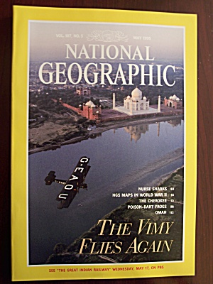 National Geographic, Volume 187, No. 5, May 1995