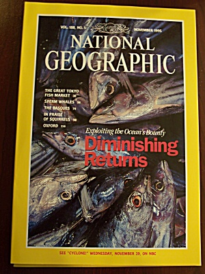 National Geographic, Volume 188, No. 5, November 1995