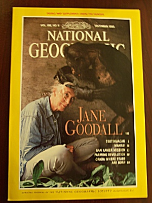 National Geographic, Volume 188, No. 6, December 1995