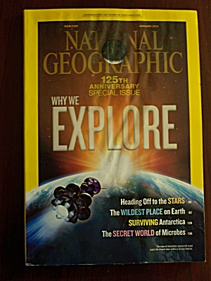 National Geographic, Volume 223, No. 1, January 2013