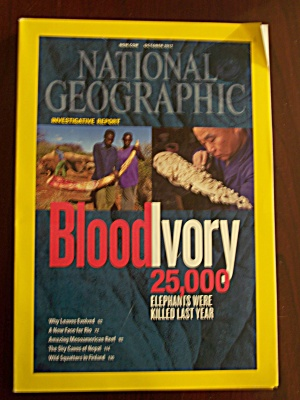 National Geographic, Volume 222, No. 4, October2012