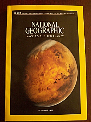 National Geographic, Volume 230, No. 5, November 2016