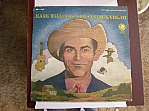 Hank Williams And Strings, Volume Iii