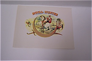 Royal Hunter Cigar Box Label