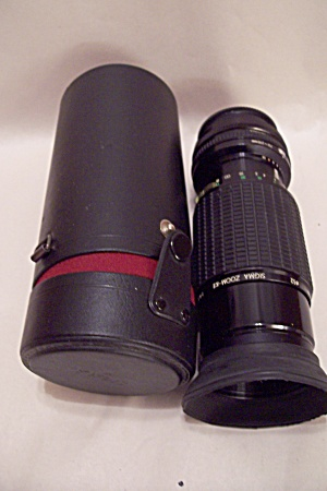 Sigma Zoom Kii F=70-210 Mm Telephoto Lens