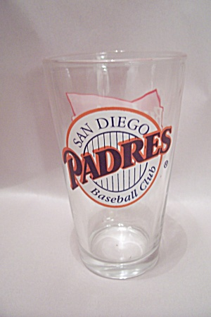 Budweiser San Diego Padres Souvenir Crystal Beer Glass