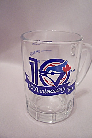 Toronto Bluejays Baseball Crystal Souvenir Shot Glass
