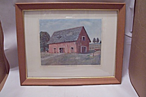 The Deserted Barn Art Print By Dwight D. Eisenhower