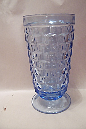 Indiana Southhall Pattern Light Blue Glass Tumbler