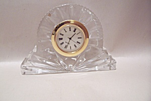 Slovenia Illusions Crystal Glass Clock
