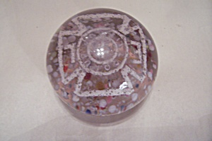 Elks Lodge Glass Paperweight