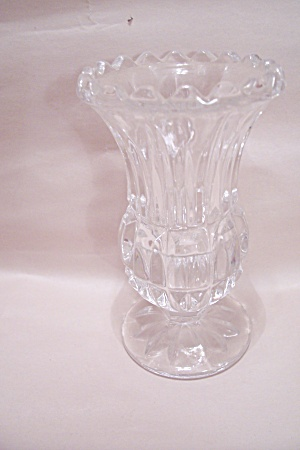 Crystal Glass Toothpick Holder