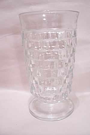 Whitehall Pattern Crystal Glass Footed Tumbler
