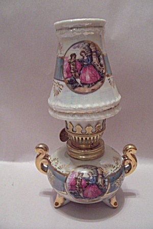 Royal Crown Miniature Oil Lamp