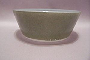 Federal Glass Avocado Green Heat Proof Dessert Bowl