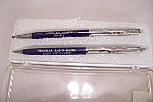 Amsterdam Federal Land Bank Pen & Pencil Set