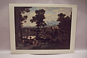 Italian Lanscape Art Print By Washington Allston