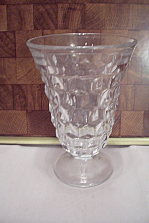 Fostoria American Pattern Crystal Glass Ice Tea Goblet