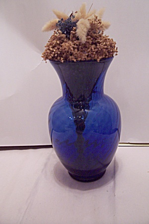 Indiana Cobalt Blue Illusions Vase