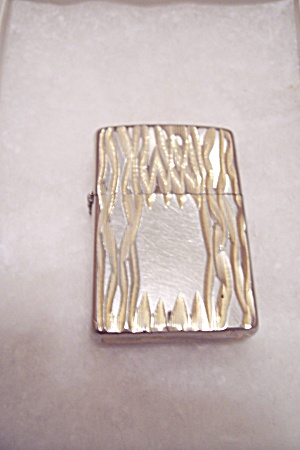 Zippo Gold Tone Front Pocket Lighter