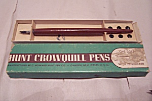 Hunt Crownquill Pen Set