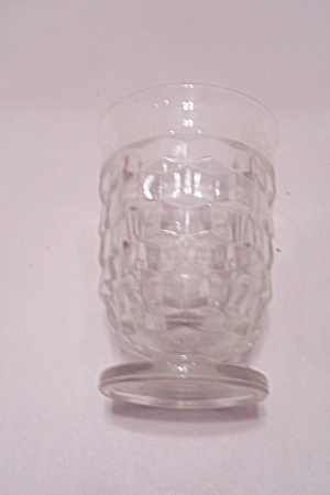 Indiana Southhall Pattern Crystal Juice Glass