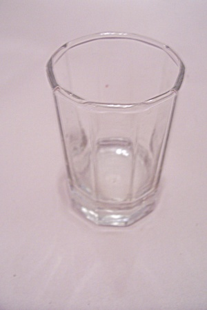 Crystal Glass 10-sided Toothpick Holder