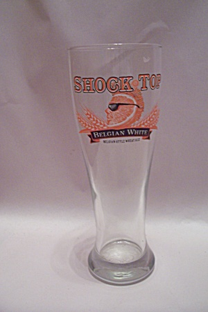 Shock Top Belgian White Crystal Ale Glass