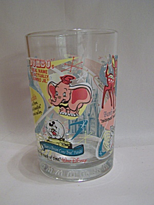 Walt Disney 100 Years Of Magic Souvenir Glass