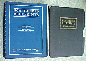 How To Read Blueprints Owens & Slingluff 1938