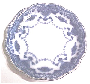 Flow Blue Saucer Grindley England Waverley
