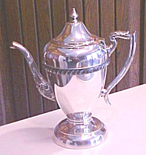 Hartford Teapot Silverplate 1920's