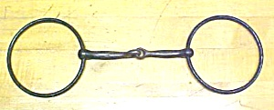Horse Bridle Bit Jointed Snaffle Iron