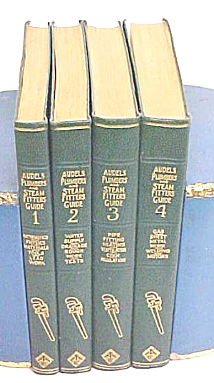 Audels Plumbers & Steam Fitters Guide Set 1925 Rare