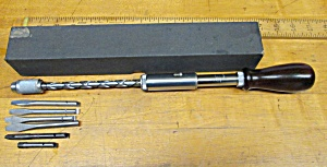 Greenlee Spiral Ratchet Screwdriver No. 448 & Box