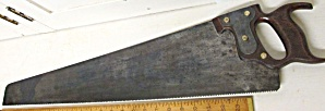 Wheeler Madden And Clemson Hand-saw Reinforced Plate On Handle Design