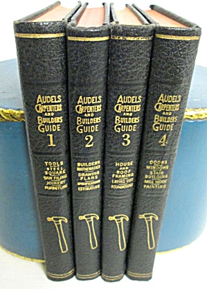 Audels Carpenters And Builders Guide 4 Vol 1951