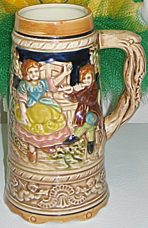 Beer Stein Japan Musical Roll Out The Barrel