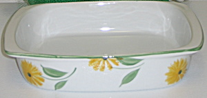 Bia Cordon Bleu Sunflowers Square Baking Bake Dish