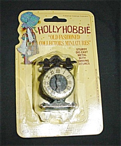 Hollie Hobbie Miniature Clock #7