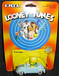1989 Ertl Looney Tunes Tweety Die-cast Car